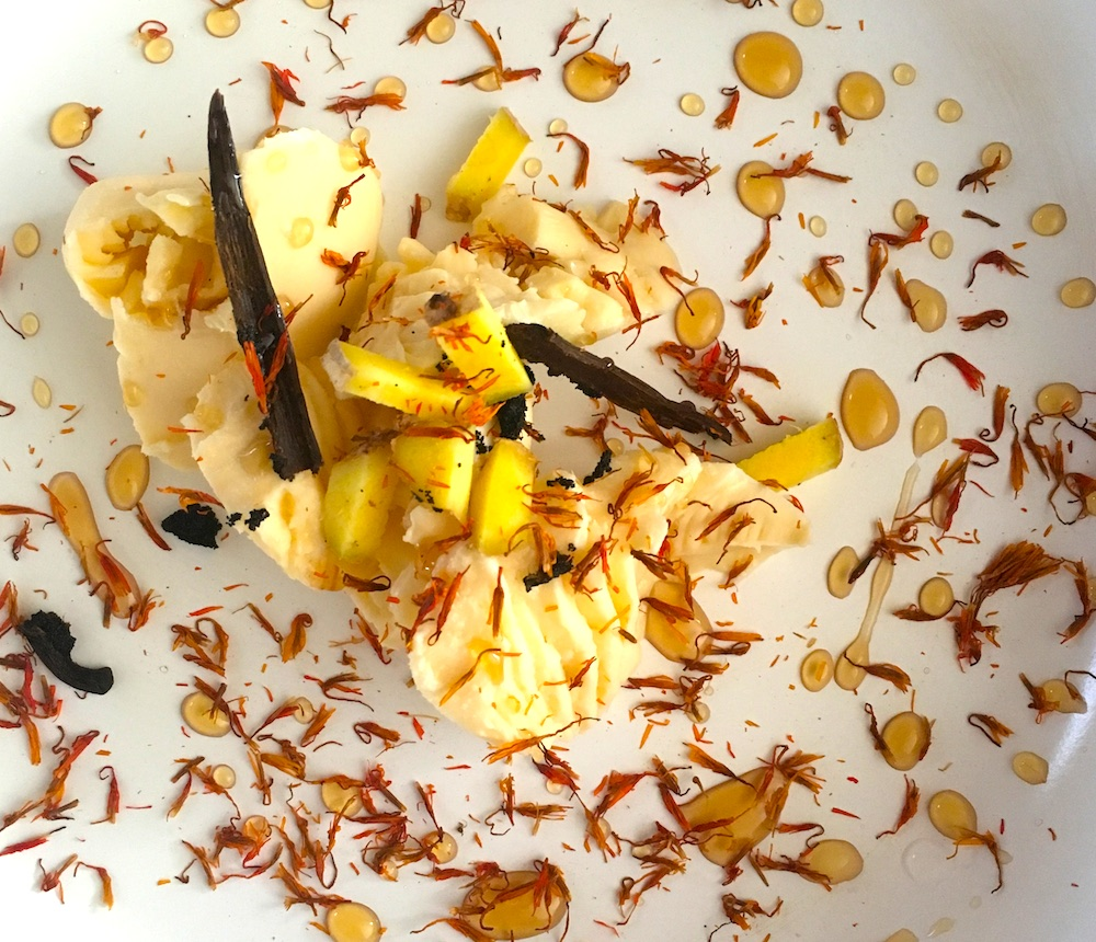 pear-pastry-roses-infused-with-ginger-saffron-lowers-and-vanilla-bean