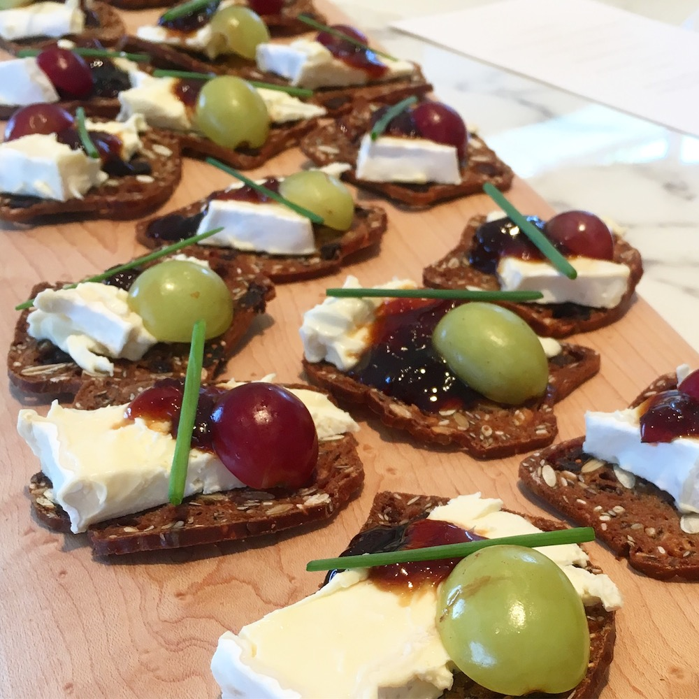 Tuscan-Brie-with-Caramelized-Fig-Preserve-&-Fresh-Grapes