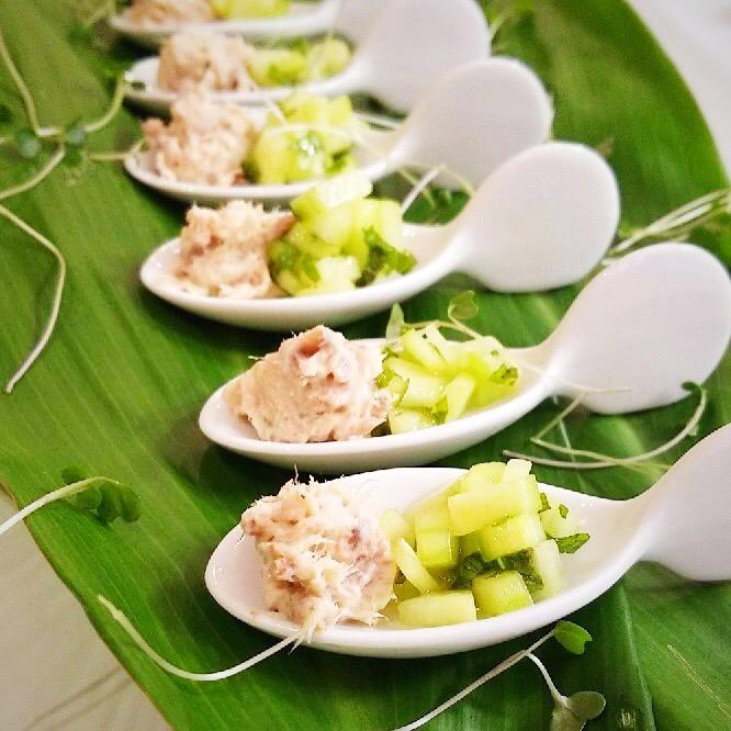 smoked-yellowtail-cucumber-cilantro-salsa